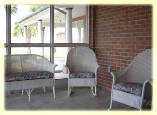 Villa of Corpus Christi South Screened Porch