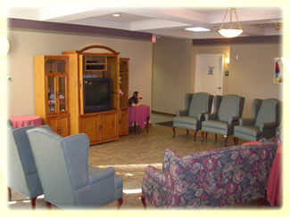 Villa of Corpus Christi South Stepping Stones Common Area