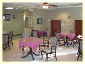Villa of Corpus Christi South Stepping Stones Dining Area