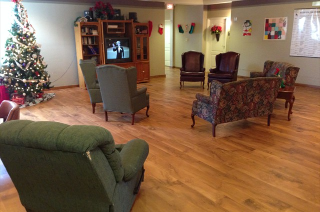 New floors in Stepping Stones!